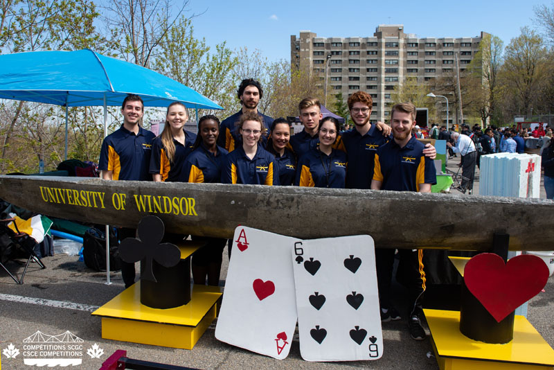Congratulations to the inaugural University of Windsor Concrete Canoe Team!